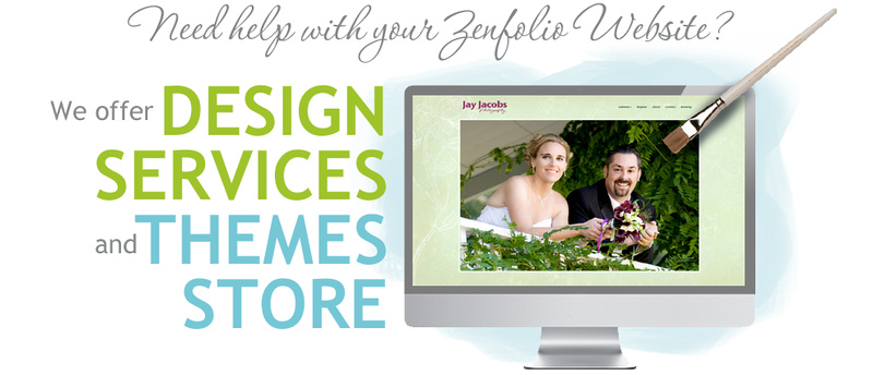 Need help designing your Zenfolio website? Warren Creative Design can help