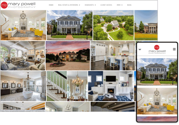 online real estate photo gallery
