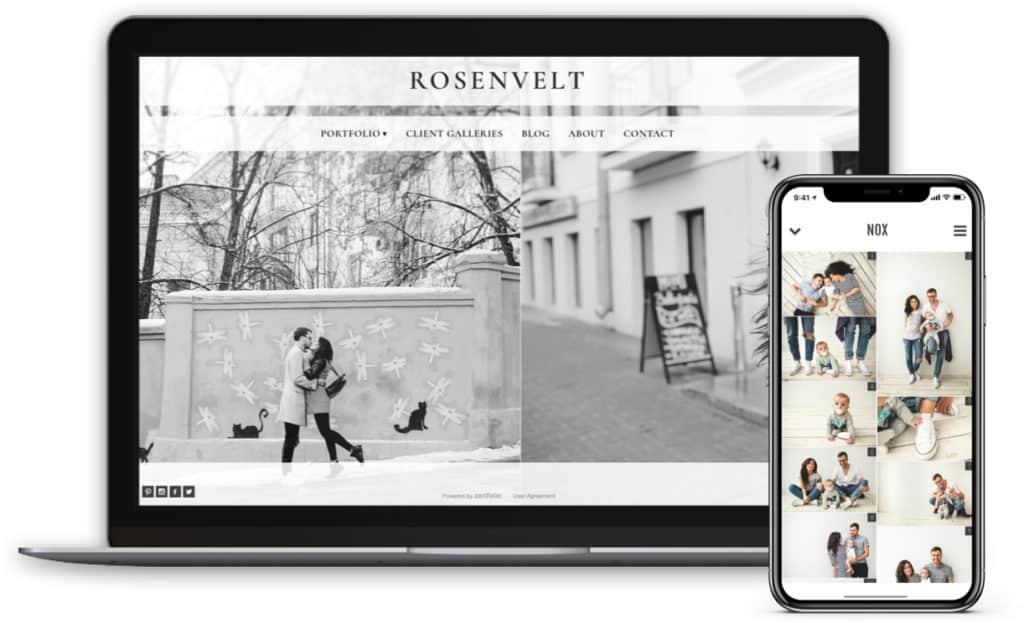 rosenvelt high volume photography sales website
