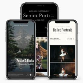 website photo galleries layouts