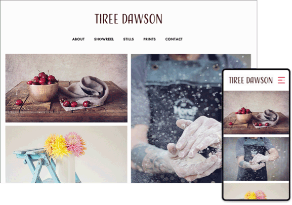 commercial photography template