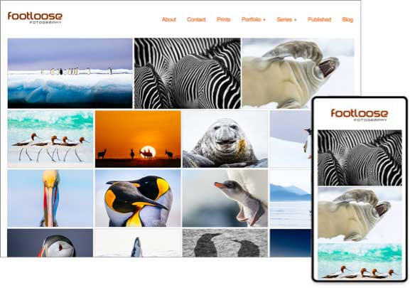 online photo template for wildlife