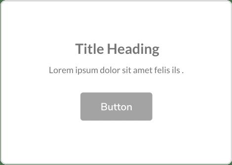 title text button content block